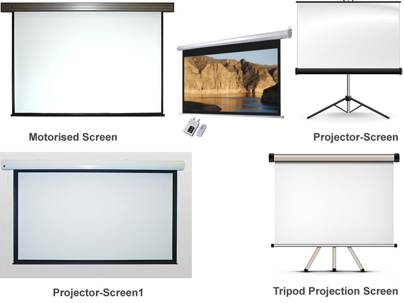 Projectors cheap projectors banglore for Micro projector screen